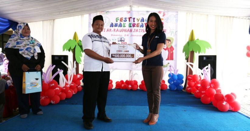 Peduli Pendidikan, MNC Bank dan MNC Life Dukung Festival Anak Kreatif