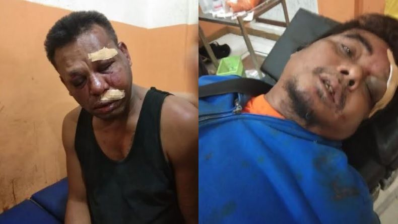 Rebutan PSK, Oknum TNI dan Wartawan Baku Hantam hingga Babak Belur