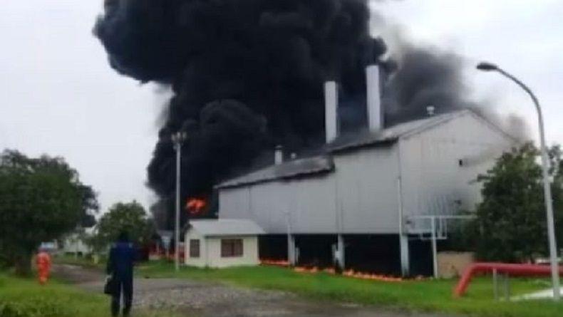 Polisi Selidiki Kebakaran Instalasi Boiler Pertamina di Indramayu