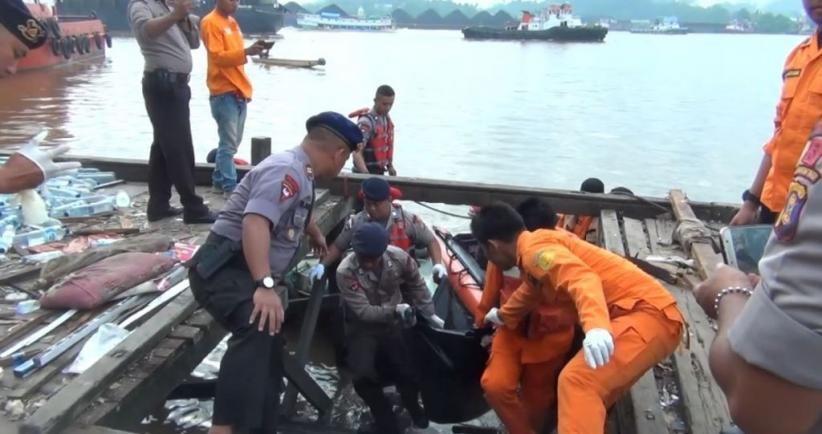 Tim SAR Temukan Jenazah 1 Korban Tewas Kapal Meledak di Samarinda