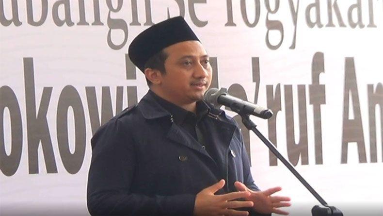 Soal Isu Reshuffle Kabinet, Yusuf Mansyur: Bismillah Mas Witjaksono Jadi Menteri UKM