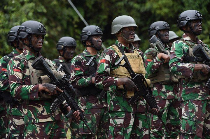 Tiga Prajurit TNI Terluka Diserang KKB di Nduga Papua