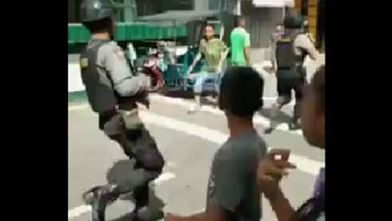 Bom Meledak saat Penangkapan Teroris di Sibolga, Ada Polisi Terluka