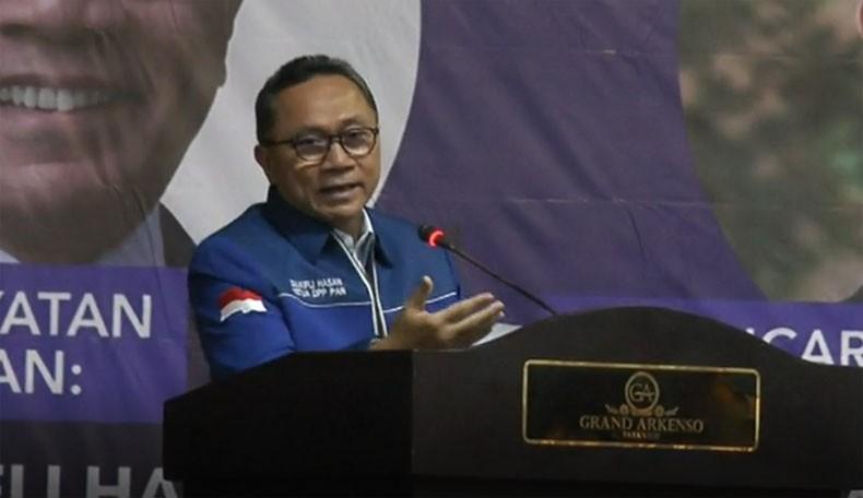 Zulkifli Hasan: Rakernas PAN Bahas Penentuan Pelaksanaan Kongres