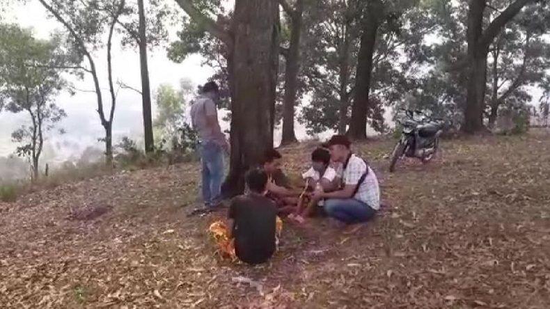 Isap Ganja di Kuburan, 3 Remaja di Padangsidimpuan Diamankan Polisi