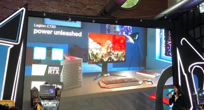 Lenovo C730 Cube Terbaru Ditopang GeForce RTX 2080