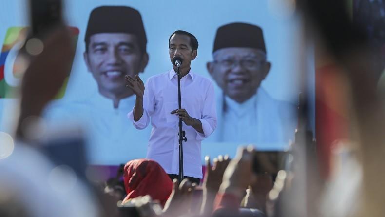 Kampanye Akbar, Jokowi Janji Bangun Jembatan dari Batam ke Bintan