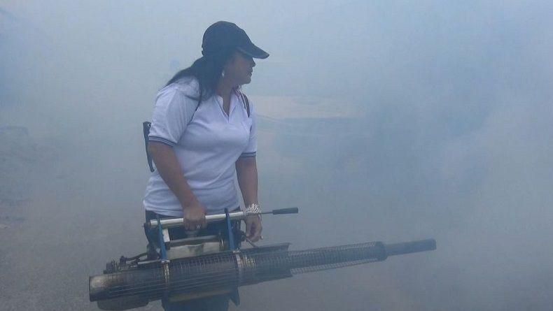 Fogging Nasional, DPW Perindo Kalteng Asapi Kompleks Warga Rawan DBD