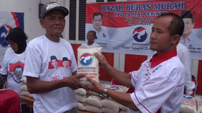 Bazar Murah Perindo Mojokerto Sasar Warga Kurang Mampu di 3 Kecamatan