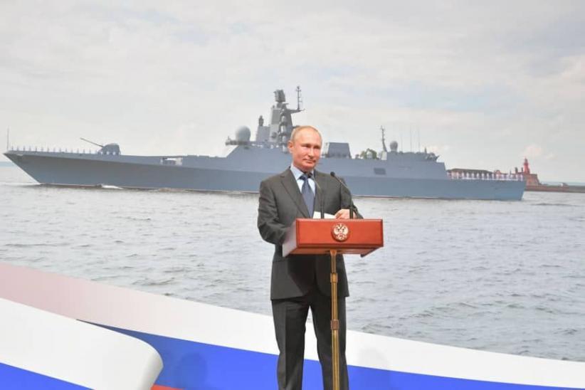Putin Uji Coba Kapal Selam Pembawa Drone Nuklir yang Bisa Picu Tsunami