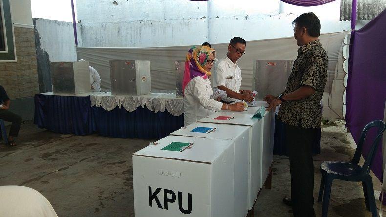 PSU di Tanjungpinang Terpantau Sepi Pemilih