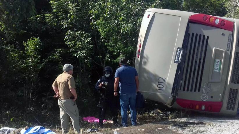 Bus Tergelincir Lalu Tabrak Mobil, 8 Orang Tewas dan Puluhan Lainnya Luka-Luka