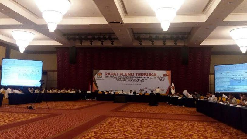 KPU Sumut: Tingkat Partisipasi Masyarakat di Pemilu 2019 Lampaui Target Nasional