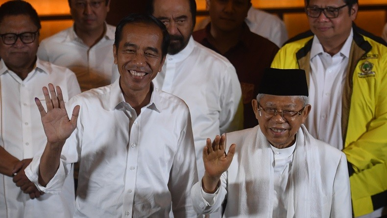 Jokowi-Ma'ruf Amin Menang Telak di Bali, Prabowo-Sandi hanya Raih 8,32%