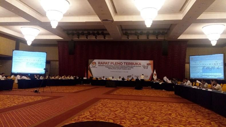 Rekap Suara di Deliserdang dan Nisel Belum Tuntas, KPU Sumut Kembali Tunda Pleno