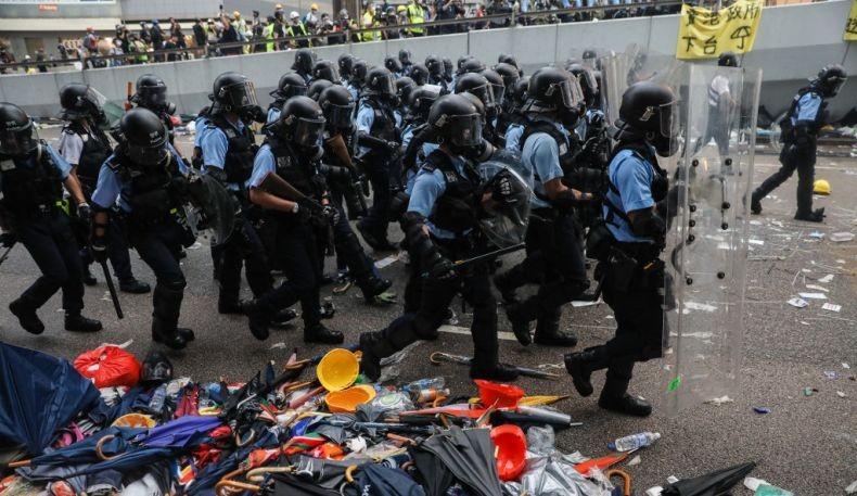 Imbauan KJRI Hong Kong kepada WNI Terkait Demonstrasi Menentang RUU Ekstradisi