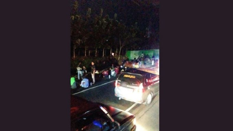 Kecelakaan Beruntun di Ruas Tol Cipali, Bus Dilaporkan Terguling