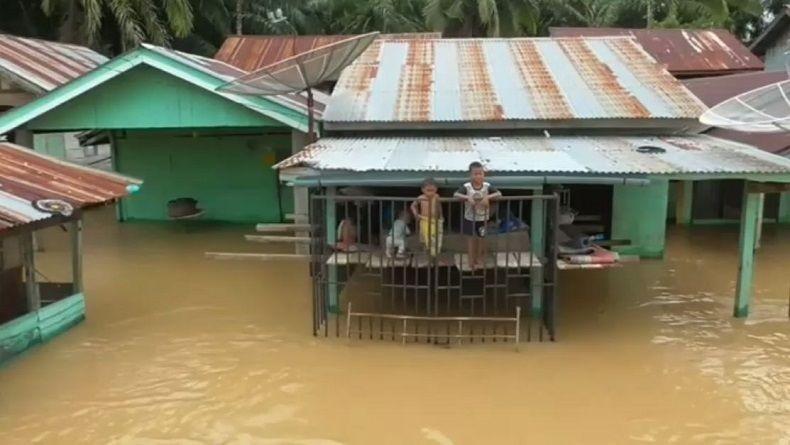 Sungai Cimanuk Meluap, 4 Kecamatan di Garut Terendam Banjir