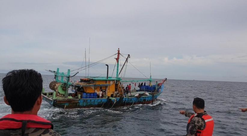 KKP Bongkar Modus Baru Pencurian Ikan 5 Kapal Vietnam di Laut Natuna