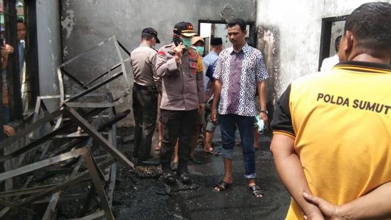 Polisi Selidiki Penyebab Kebakaran Pabrik Korek yang Renggut 30 Nyawa di Langkat