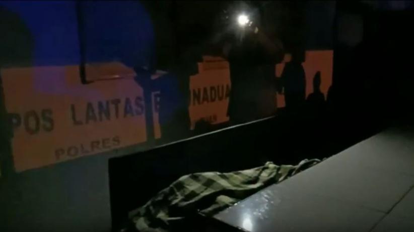 Mayat Tanpa Identitas dalam Pos Polisi Gegerkan Warga Padangsidimpuan Sumut