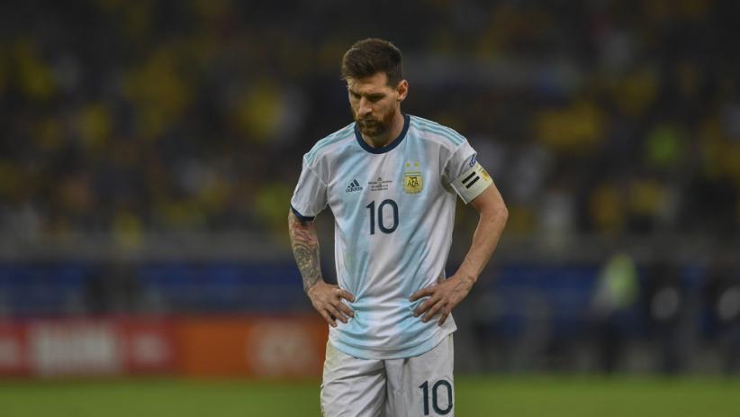 Argentina Dikalahkan Brasil, Messi Kembali Gagal Juara bersama Timnas
