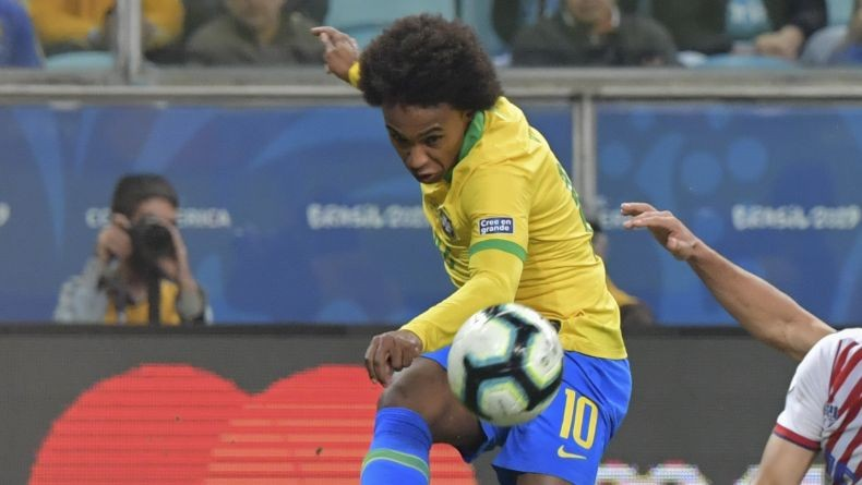Cedera Hamstring, Willian Absen di Final Copa America 2019