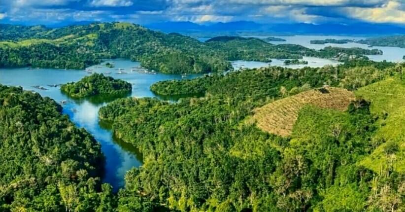 Terpesona Keindahan Bukit Matang Kaladan Kalsel, Mirip Gugusan Pulau Raja  Ampat