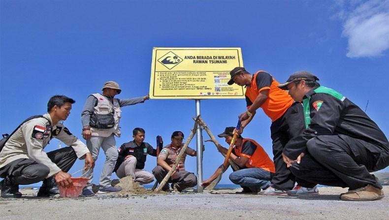 584 Desa di Selatan Jawa Terancam Tsunami, BNPB Safari Desa Tangguh Bencana