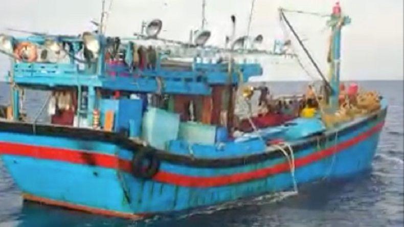 KKP Tangkap 6 Kapal Asing di Laut Natuna Kepri dan Bitung Sulut