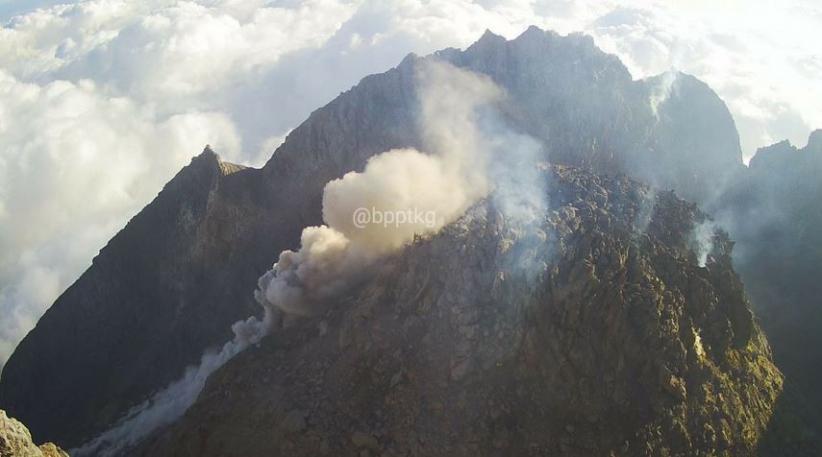 Gunung Merapi Luncurkan Guguran Awan Panas Sejauh 950 Meter ke Arah Kali Gendol