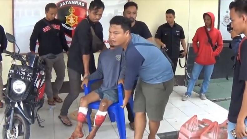 Polisi Tangkap Pelaku Begal Sadis di Pangkalpinang Babel