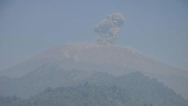 Status Gunung Slamet Waspada, Jalur Pendakian Ditutup