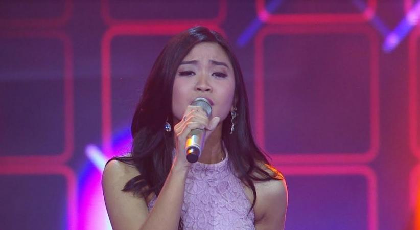 Nyanyi Dangdut di TVI 2019, Kontestan asal Bogor Ini Bikin Coach Nino Menangis