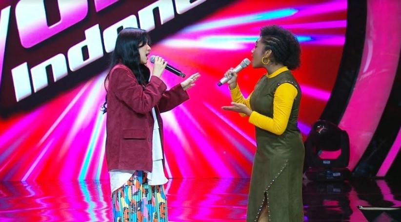 Duet Bareng, Kontestan Ini Bikin Isyana Jiper di Babak Blind Audition TVI 2019