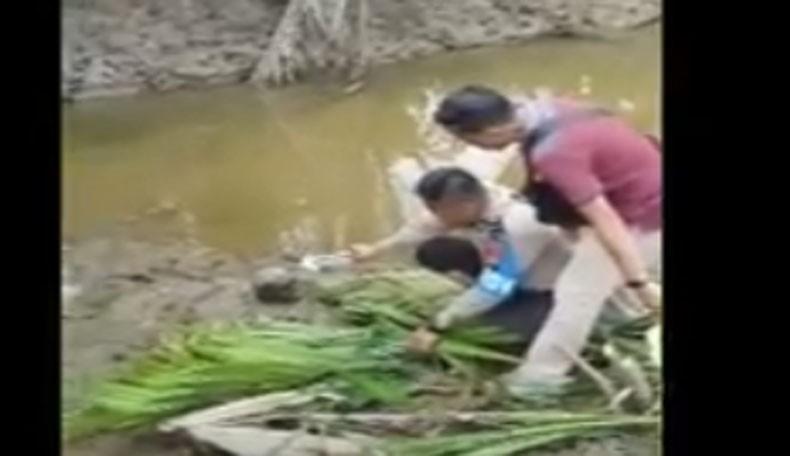 Geger, Tengkorak Kepala Manusia Ditemukan di Pinggir Sungai Sungsang Banyuasin
