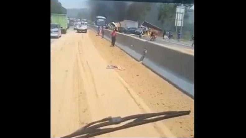 Kecelakaan Beruntun Tol Cipularang, Ini Rekayasa Lalu Lintas dari KM 90 - 93