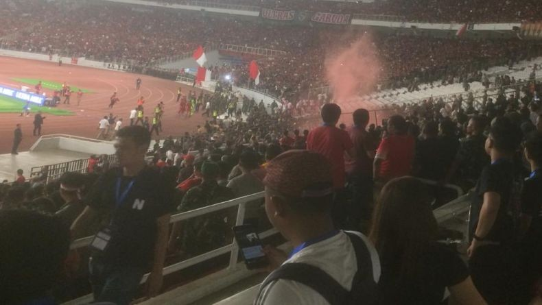 Ultras Malaysia Diserang oknum Suporter Indonesia, 1 Cedera