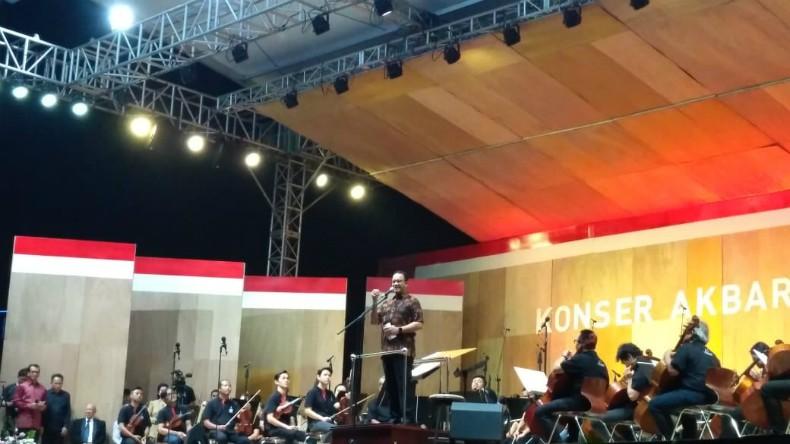 Konser Akbar Monas 2019, Anies Ajak Jadikan Jakarta Rumah Musik Klasik Dunia
