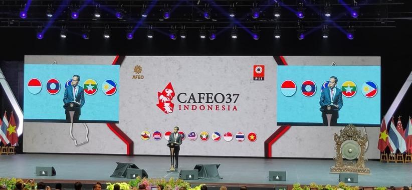 Buka Konferensi Organisasi Insinyur se-ASEAN, Jokowi Ingatkan soal Sinergi