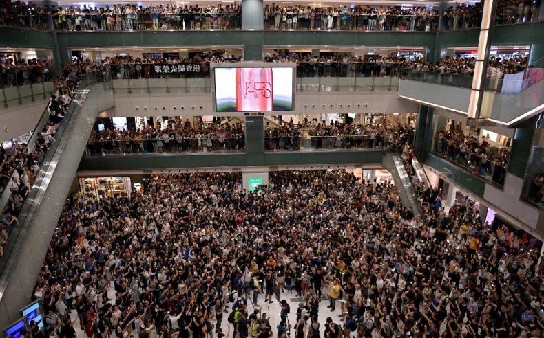 Warga Hong Kong Ganti Lagu Kebangsaan China dengan 'Glory to Hong Kong'