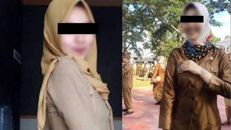 Foto-Foto Syur Wanita Berseragam Dinas Beredar di Medsos, Diduga PNS Jabar