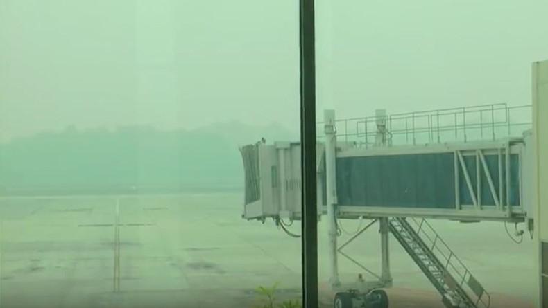Kabut Asap Tebal, 4 Pesawat yang Berputar-putar di Pekanbaru Gagal Mendarat