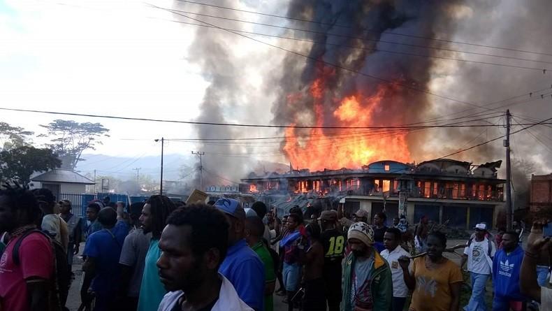 Pemkab Lelang Pembangunan Kantor Bupati Jayawijaya yang Terbakar saat 23 September