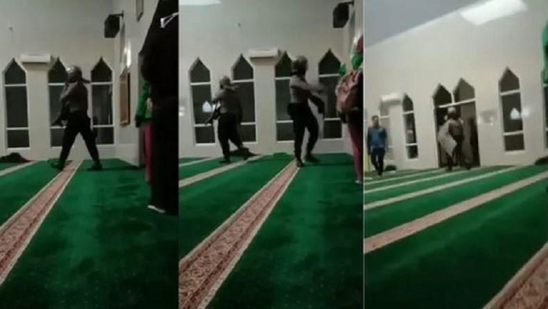 Viral Video Polisi Bersepatu Masuk Masjid Kejar Mahasiswa, Polda Sulsel Minta Maaf