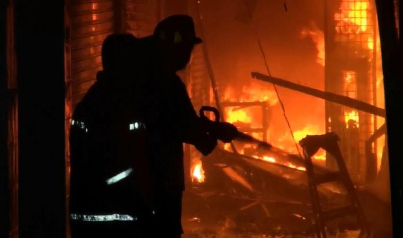 Ratusan Kios di Pasar Kalijati Subang Ludes Terbakar, Kerugian Ratusan Juta Rupiah