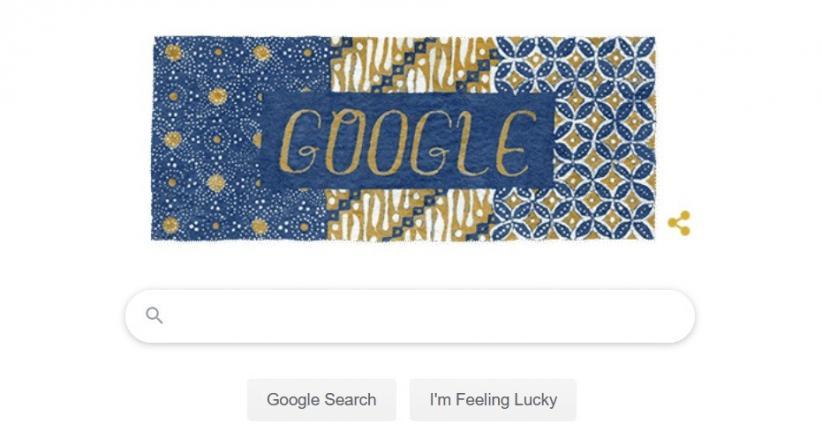 Google Ikut Rayakan Hari Batik Nasional lewat Doodle