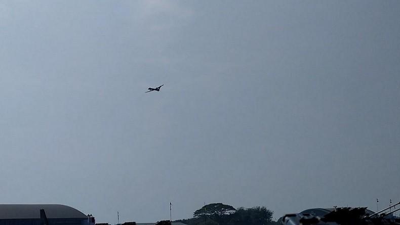 Drone Canggih CH4 Dipamerkan di Upacara HUT ke-74 TNI
