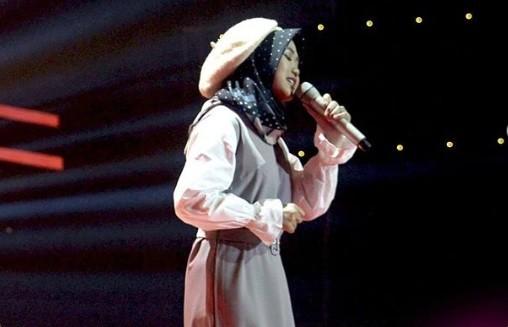 Suara Cunit Hipnotis Titi DJ di Knock Out The Voice Indonesia 2019