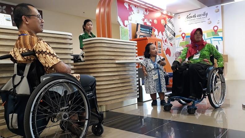YIA Caring Day, 25 Disabilitas Jajal Layanan Bandara